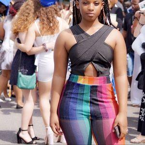 Multi color jumpsuit
